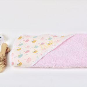 Cape de bain bébé personnalisée