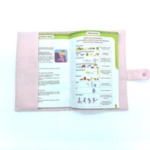 Protège carnet de santé personnalisé